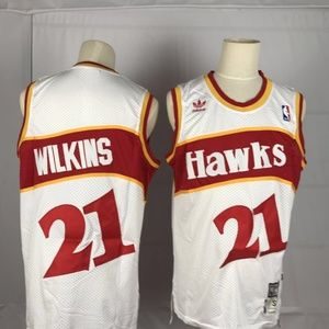 Atlanta Hawks #21 Dominique Wilkins Jersey